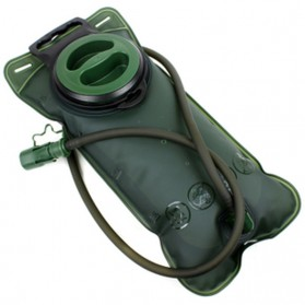 Kantung Air Minum Outdoor TPU Water Bag 2L - Green - 2