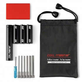 Coil Master Cooling Kit V4 - Black/Red