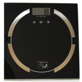 Timbangan Badan Elektronik 180kg - Black