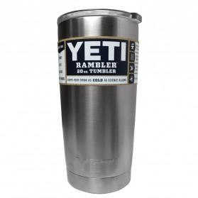 Yeti Rambler Thermos Stainless Steel 600ml - Silver