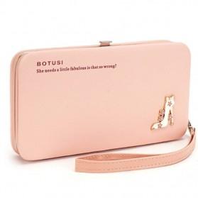 BOTUSI Dompet Genggam Clutches - Pink