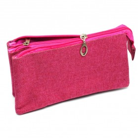 Tas Pouch 3 Layer - Red