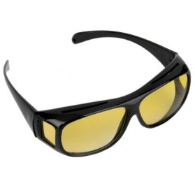 FORAUTO Kacamata Night Vision UV Protection - NJ07470 - Black/Yellow