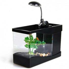 Aquarium Mini USB - Lileng-918 - Black