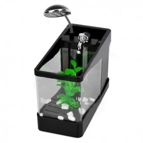 Aquarium Mini USB - Lileng-918 - Black - 2