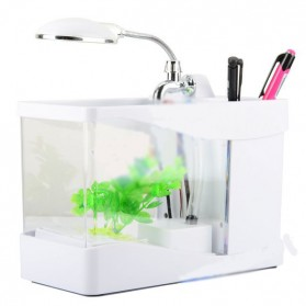 Aquarium Mini USB - Lileng-918 - White