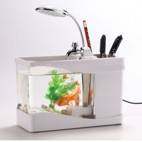 Aquarium Mini USB - Lileng-918 - White - 2
