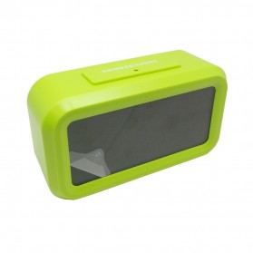 Fanju Jam LCD Digital Clock with Alarm - JP9901 - Green