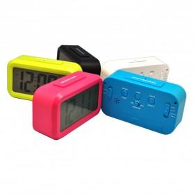 Taffware Fanju Jam LCD Digital Clock with Alarm - JP9901 - Green - 5
