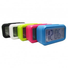 Taffware Fanju Jam LCD Digital Clock with Alarm - JP9901 - Green - 7