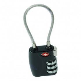 Gembok Koper TSA Kode Angka - TSA007 - Black - 2