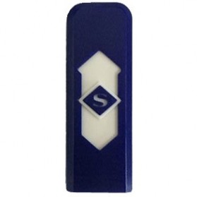Korek Elektrik USB Cigarette Lighter - JL543 - Blue/White - 1