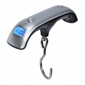 Luggage Handheld Electronic Scales - Silver