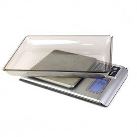 5KW 1.8 Inch LED Digital Electronic Jewelry Scale 3000g x 0.1g - Black - 3