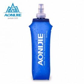 AONIJIE Botol Minum Lipat Olahraga 500ml (backup) - Blue