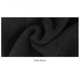 CoolChange Topi Kupluk Pelindung Rambut Olahraga Model Fleece Warm - 20041 - Black - 7