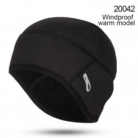 CoolChange Topi Kupluk Cycling Cap Windproof Model - 20042 - Black