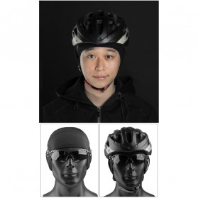 CoolChange Topi Kupluk Cycling Cap Windproof Model - 20042 - Black - 11