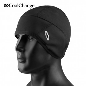 CoolChange Topi Kupluk Cycling Cap Windproof Model - 20042 - Black - 2