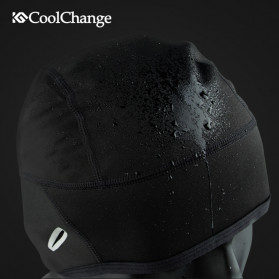 CoolChange Topi Kupluk Cycling Cap Windproof Model - 20042 - Black - 3