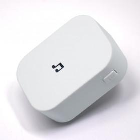 EKEN Receiver Bell Pintu Wireless Doorbell EU Plug for EKEN V5 V6 V7 433Mhz - F53 - White - 2