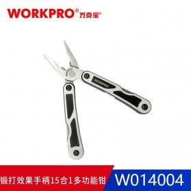 WORKPRO Tang EDC Multifungsi 15 in 1 - W014004 - Silver - 3