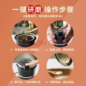 PINK BUNNY Penggiling Kopi Bumbu Kering Spice Coffee Grinder Elektrik - CX-702 - Black - 8