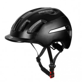 WEST BIKING Helm Sepeda Cycling Helmet with Reflective - WB152 - Black