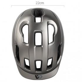 WEST BIKING Helm Sepeda Cycling Helmet with Reflective - WB152 - Black - 4