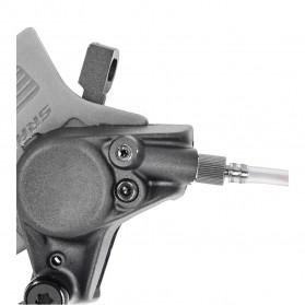 West Biking Alat Ganti Oli Rem Sepeda Oil Disc Brake Filling Joint for SRAM Brake - YP719 - Silver - 7