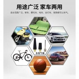 Qiangshen Pompa Angin Ban Mobil Handheld Air Compressor - QP238700 - Black/Yellow - 2