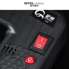 Qiangshen Pompa Angin Ban Mobil Handheld Air Compressor - QP238700 - Black/Yellow - 6