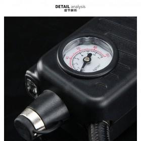 Qiangshen Pompa Angin Ban Mobil Handheld Air Compressor - QP238700 - Black/Yellow - 8