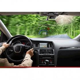 Digital Car LED HUD OBD2 Interface 5.5 Inch - Q7 - Black - 8