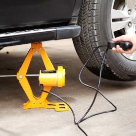 JINYUN TIANYANG Set Dongkrak Mobil Elektrik Hidrolik Portabel 12V 2 Ton - ROGTZ - Black/Yellow