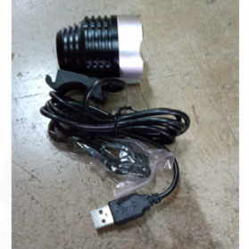 Headlamp Lampu Sepeda 2000 Lumens CREE XML - T6 - Black - 9
