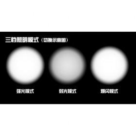 Headlamp Lampu Sepeda 2000 Lumens CREE XML - T6 - Black - 7