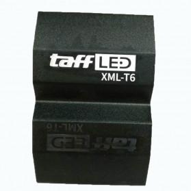 TaffLED Lampu Sepeda Owl X2 LED CREE XML-T6 7000 Lumens - USB Power - Black - 8