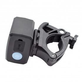ZACRO Headlamp Lampu Sepeda USB Rechargerable CREE Dual XML-T6 - Y15 - Black - 3