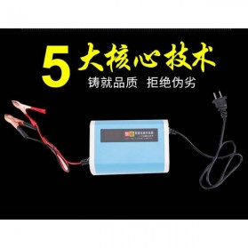 Charger Baterai Aki Mobil Motor LCD Display 12V 6A - YX12V6A-4 - Blue - 4