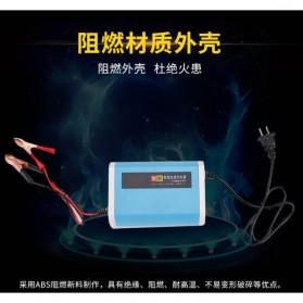 Charger Baterai Aki Mobil Motor LCD Display 12V 6A - YX12V6A-4 - Blue - 6