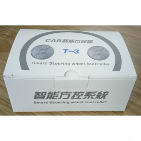 T-3 Smart Universal Car Steering Wireless Remote Control Musik GPS DVD - T-301 - Black - 10