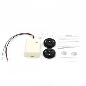 T-3 Smart Universal Car Steering Wireless Remote Control Musik GPS DVD - T-301 - Black - 8