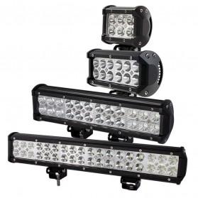 Weketory Lampu LED Spot Lightbar Mobil Truck ATV SUV 4WD 11.8 Inch 72W - C-72W - Black - 8
