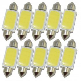 Lampu Interior Mobil LED COB Dome Light 36mm c5w BA9S 1 PCS - White - 3