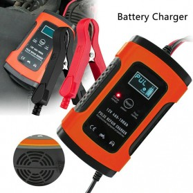 Taffware Venus Intelligent Battery Charger Aki Mobil 12V6A - UD20 - Orange - 1