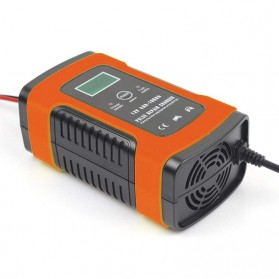 Taffware Venus Intelligent Battery Charger Aki Mobil 12V6A - UD20 - Orange - 5