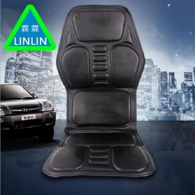 Wan Nian Kang Cover Jok Kursi Pijat Mobil Massage Vibrate Car Seat - X01 - Black - 3