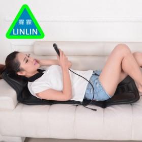 Wan Nian Kang Cover Jok Kursi Pijat Mobil Massage Vibrate Car Seat - X01 - Black - 5