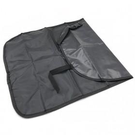 GEONYIEEK Alas Kursi Belakang Mobil Car Backseat Cover Protection - GE2016 - Black - 5
